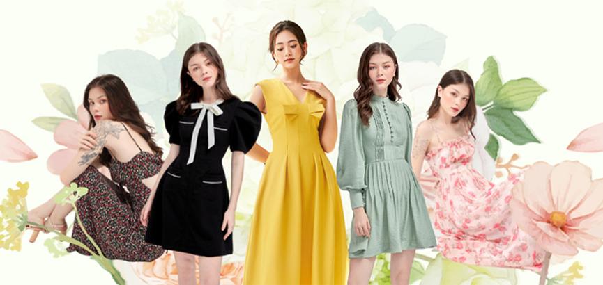 Những mẫu váy đầm hot nhất năm 2021